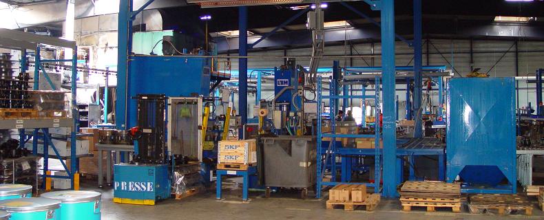 LIGNE DE PRODUCTION1 MACHINES ET MATERIEL DE PRODUCTION