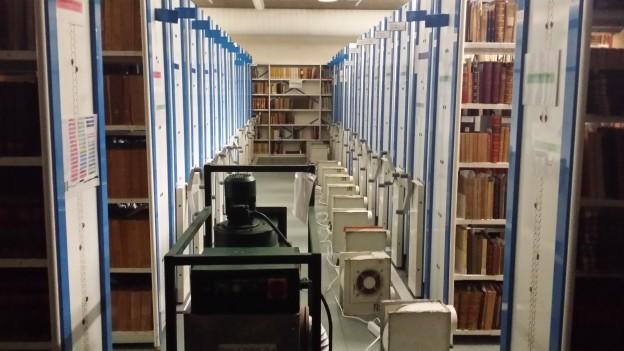 Ventilation des bibliothèques sinistrées
