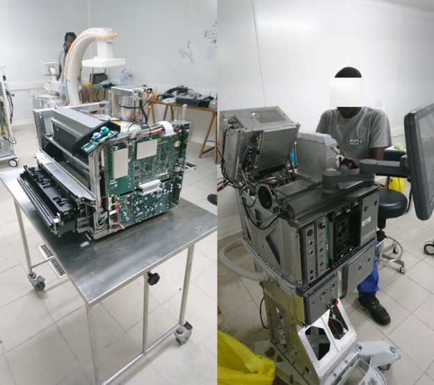 Décontamination de matériels de bloc opératoire
