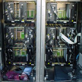 Traitement de la corrosion dune baie de télécommunication 280x280 Décontamination matériels électroniques / Electriques